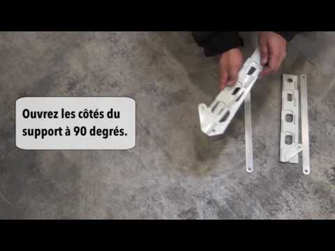 SeasonGuard Plus Retractable Screen Door Installation Video (FR)