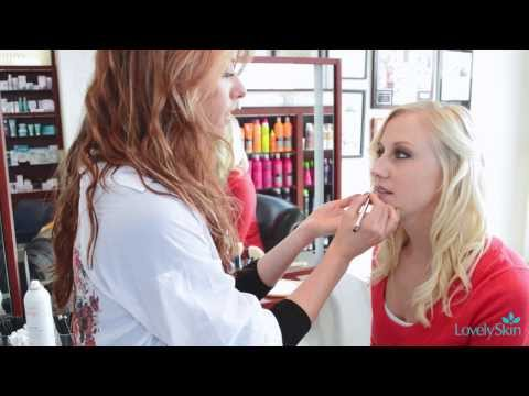 Easy Makeup Look featuring Burgundy Lipstick | LovelySkin