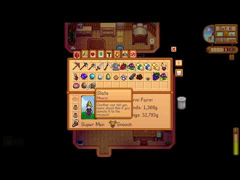 How to get Slate mineral - Stardew Valley