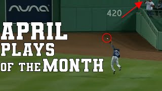 April Top 30 Sports Plays of the Month | Highlights & Best Moments