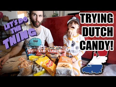 Trash Picking Happens, but - TRY DUTCH CANDY! Fan Mail From The Netherlands!