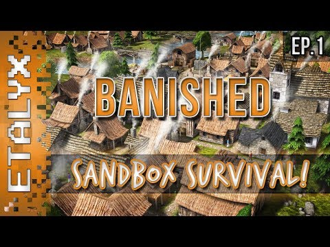 Banished - Sandbox City Survival! [Ep.1]