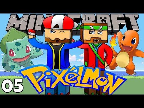 Minecraft: PIXELMON (Minecraft Pixelmon Mod) - Episode 5 -