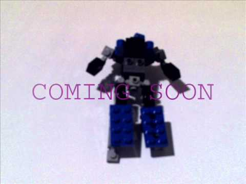 Lego G1 Shockwave prototype