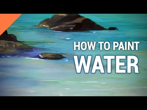 How To Paint WATER In Photoshop