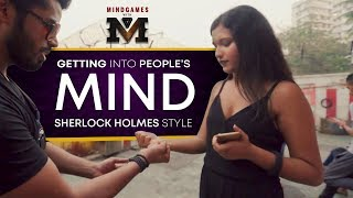 Mind Games With M | Sherlock Holmes Tribute - Ep 1 | Being Indian