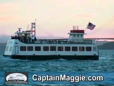 Sunset Cruises on SF Bay with Captain Maggie & The Angel Island Tiburon Ferry