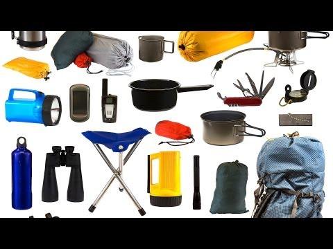 Basic Supplies, Part 1   Camping