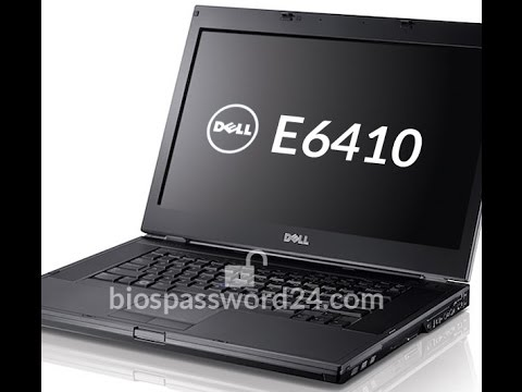 How to reset bios password Dell Latitude E6410