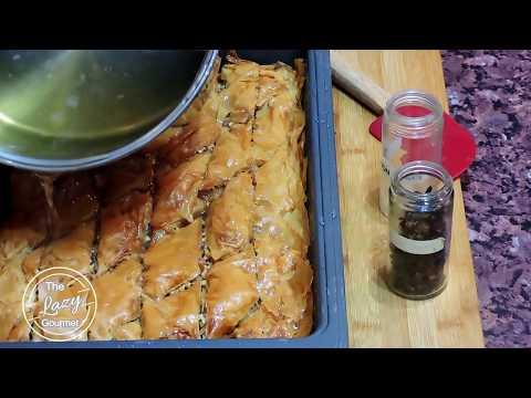 How To Make Baklava - Easy Greek Baklava Recipe