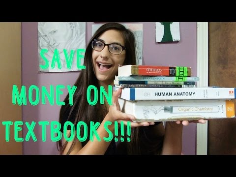 How to Save Money on College Textbooks (FREE TEXBOOKS!?!)