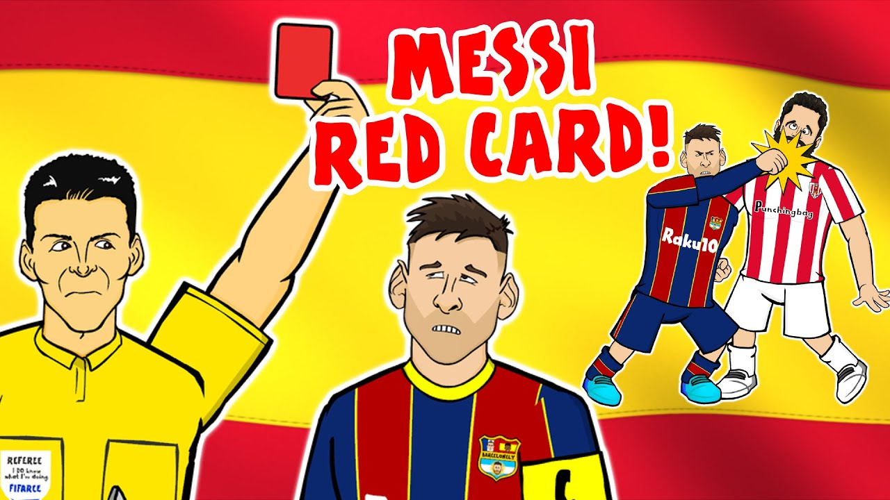 👊🏻MESSI RED CARD!👊🏻 (Spanish Super Cup 2020 Barcelona 2-3 Athletic Bilbao)