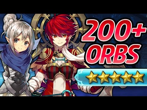Fire Emblem Heroes - 200+ Orbs Summons: KINSHI HINOKA, F!KANA & SHIGURE! [Wings of Fate Banner]