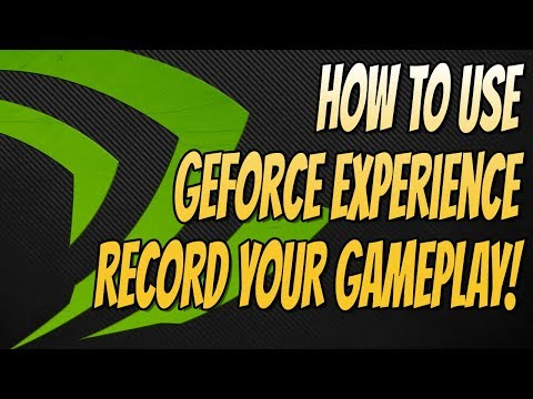 How To Setup Geforce Experience Tutorial Record & Stream Your Gameplay For FREE!