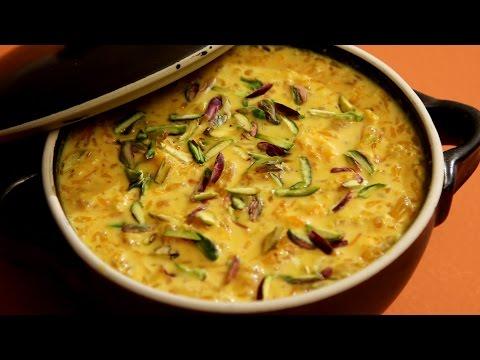 Orange Kheer Recipe | How To Make Kheer | Creamy Milk Pudding  | Divine Taste With Anushruti
