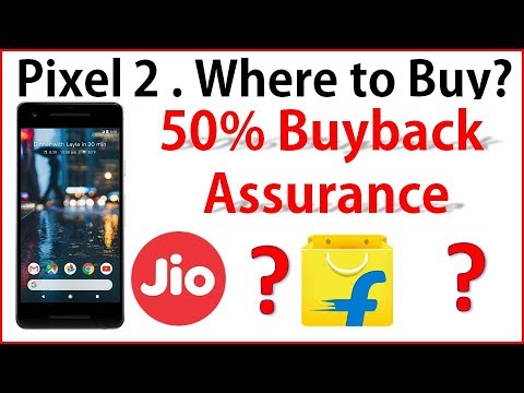 Jio Google Pixel 2 offer: 50% Buyback guaranteed - Jio Offer & Flipkart Offer Compared