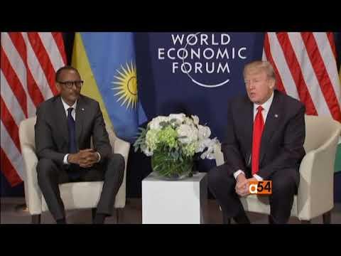 Rwanda and U.S. meet at World Economic Forum