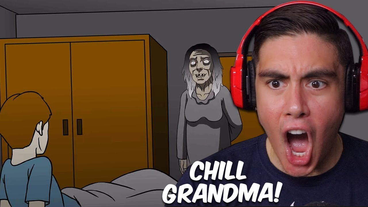I Reacted To Scary Story Animations Of True Horror Experiences (And Now I Can't Sleep)