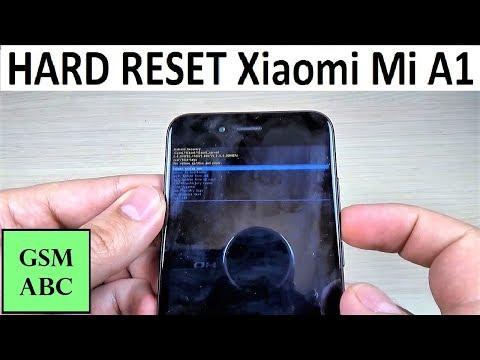 HARD RESET XIiaomi Mi A1