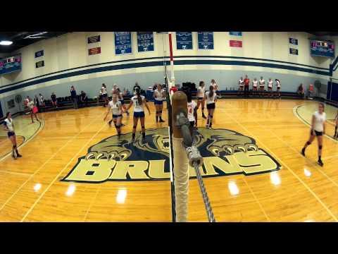 KCC volleyball vs. Lake Michigan College, Sept. 4, 2014