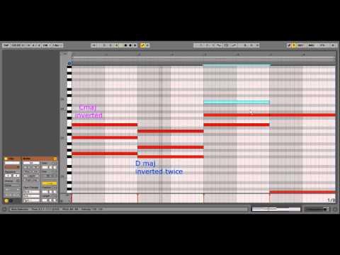 ABLETON LIVE TUTORIAL: Trance Chord progressions (Easy)