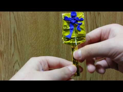 Origami Man Swatter, Designed By Jeremy Shafer - Not A Tutorial