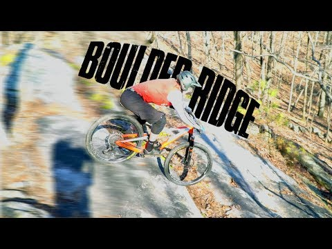 Rock rolls through Boulder Ridge | Oak Mountain State Park