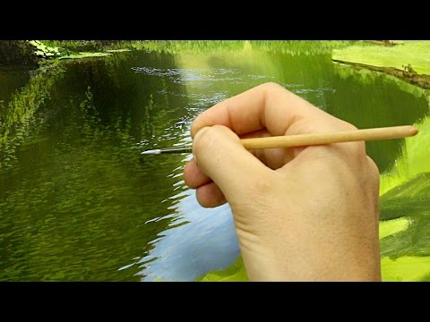 #36 How To Paint A River | Oil Painting Tutorial