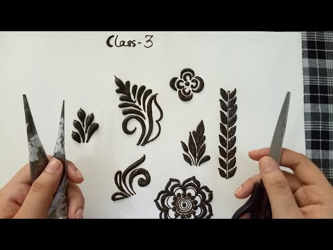 Easy Tips and tricks for henna | (class 3 - 5) | classes for beginners