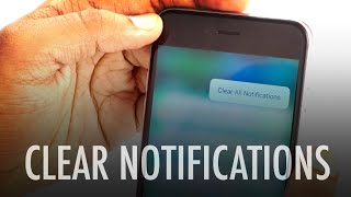 How To Clear All Notifications On Ios