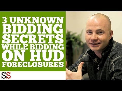 3 Unknown Bidding Secrets While Bidding On HUD Foreclosures