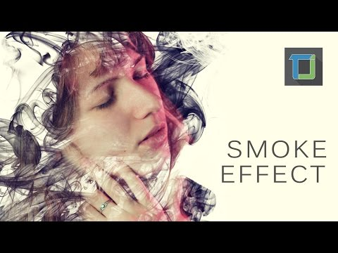 Smoke dispersion effect | photoshop tutorials cs6