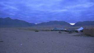 An evening scene near Manasarovar