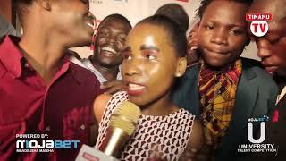 Shangwe za kina Ebitoke kwenye uzinduzi wa MojaBet University Talent Competition 2017