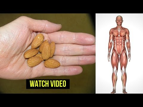 Eat 4 Almonds Daily and This Will Happens To Your Body