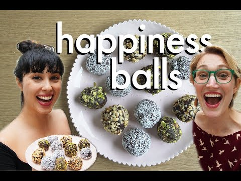 The Chocolate Dessert You NEED In Your Life: Happiness Balls! feat. Melissa Hemsley