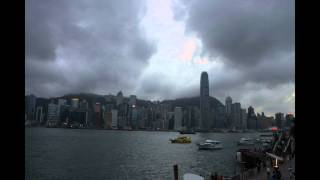 Hong Kong Sunset Timelapse