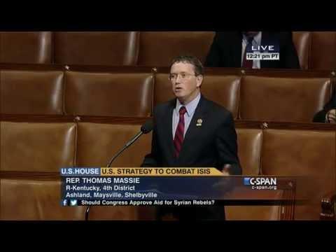 Rep. Massie Speaks Against U.S. Intervention in Syrian Civil War