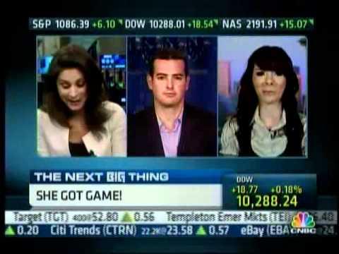 Jon on CNBC Talking Video Games