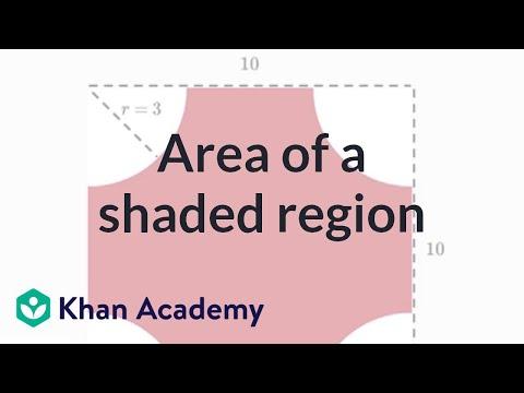 Area of a shaded region | Geometry | 7th grade | Khan Academy