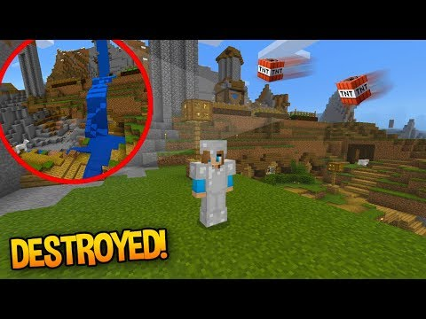 DESTROYING MY SURVIVAL LET'S PLAY WORLD?! (New let's play soon)