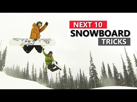 10 Snowboard Tricks to Learn Next