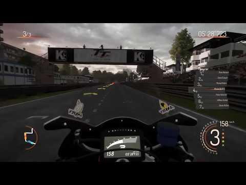 TT Isle of Man - Ride on the Edge PS4 Gameplay