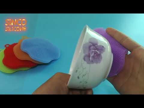 silicone dishwasher brush / silicone dish washing brush review