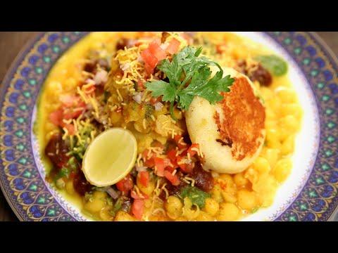 Ragda Patties Recipe | Popular Mumbai Street Food | The Bombay Chef - Varun Inamdar