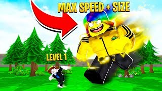Download I became the FASTEST and BIGGEST with 1,000,000,000 POWER (Roblox) Video