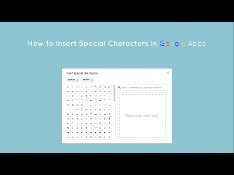 How to Insert Special Characters in Google Docs, Slides, and Drawings