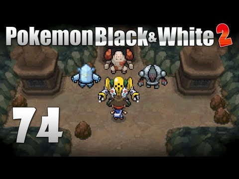 Pokémon Black & White 2 - Episode 74 [Catching Regirock, Registeel, Regice & Regigigas]