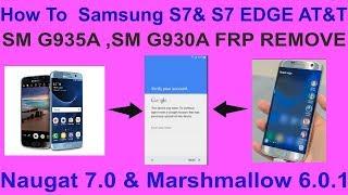 HOW TO REMOVE FRP S7 EDGE SM G935A,P,U   VERY EASY Method
