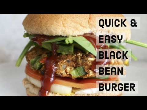 Black Bean Burgers: How To Make Black Bean Burgers